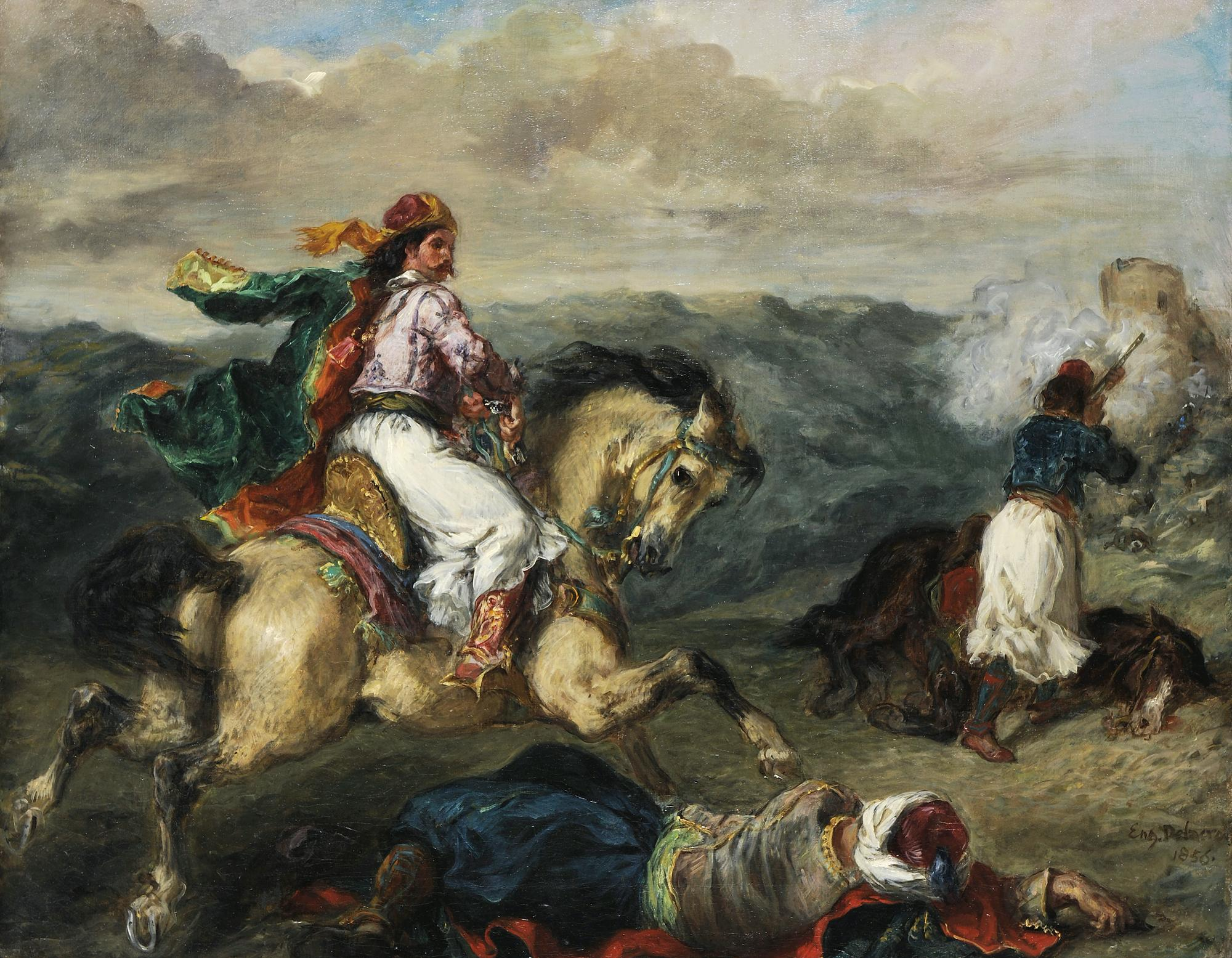 Delacroix Episode from the Greek War of Independence 1856