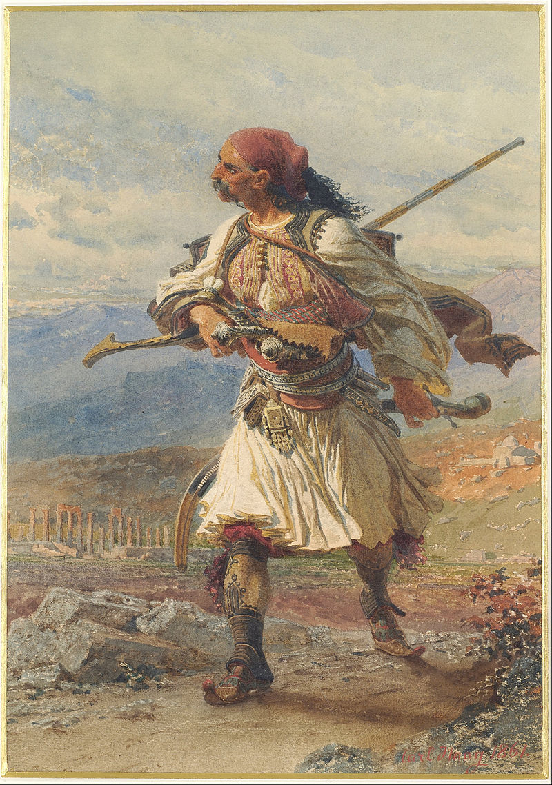 Haag Carl Greek Warrior Google Art Project